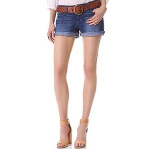 Paige • Denim Jimmy Jimmy Cuffed Shorts.
